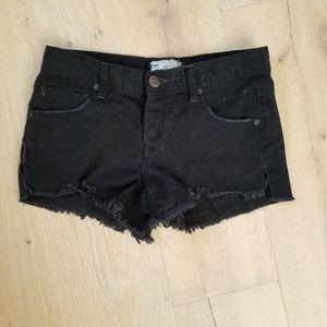 Free People Shorts - Free People shark bite shorts, size 25